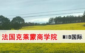 法国克莱蒙商学院MIB国际工商硕士